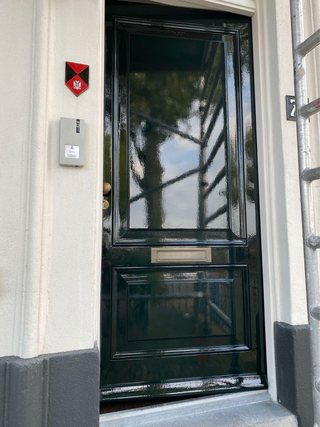 portfolio monumentale deur Glas- en Schildersbedrijf Marc Hellegers